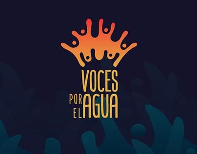 Voces por el Agua Branding/ Identidad
