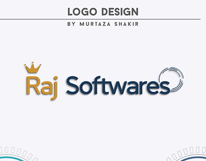 Raj Softwares Logo