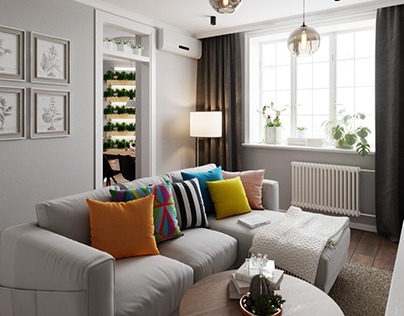 Дизайн-проект квартиры в Оренбурге