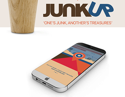 JunkUp app: 'One's Junk, Another's Treasures- iPhone