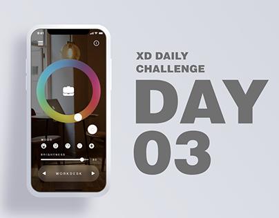 XD Daily Challenge DAY03: Smart Lighting App