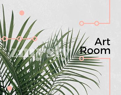 ART ROOM ▫ graphic design ▫ space ▫ event