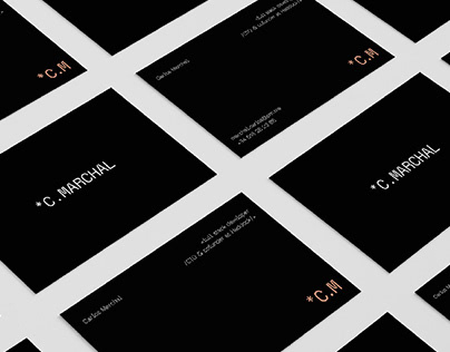 Carlos Marchal /// Brand Design