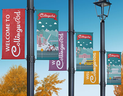 City of Vancouver and Collingwood BIA Street Banners