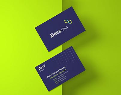 Devs Dna · Branding, Motion, Web y App