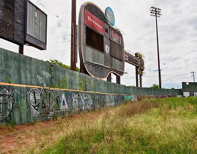 The fall of Greer Stadium...