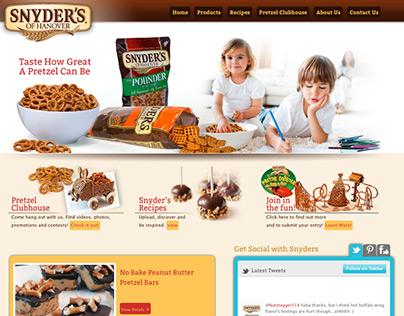 Snyder's of Hanover Website