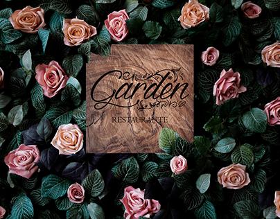 Garden Restaurante | Identidade Visual e Mockup do Logo