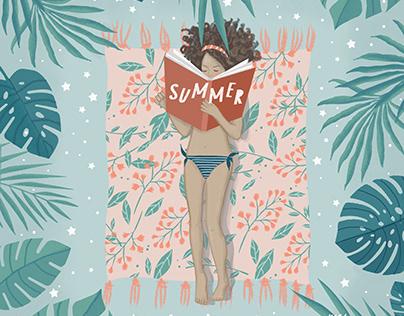 Illustration - Summer Readings