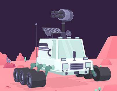 Concept Art for Alien Game