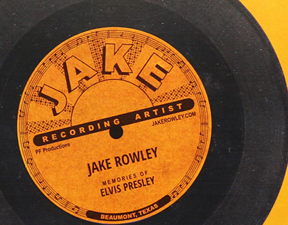 Promotional Brochure for Jake Rowley