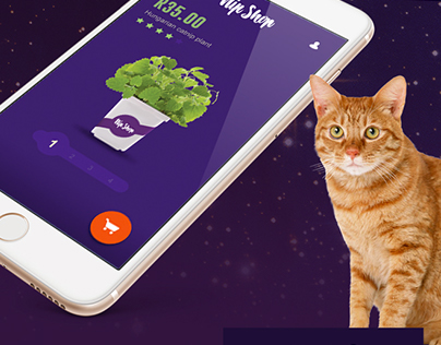 Mobile catnip dispensary app