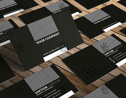 Black – Premium Business Card PSD Template