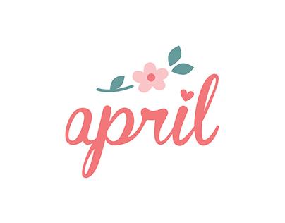 Logo «April»