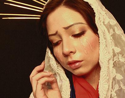 La Virgen de la Misericordia - Sesión de Fotos