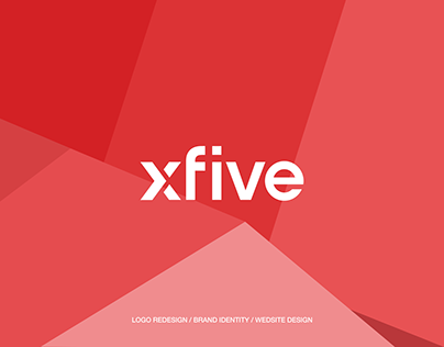 xFive rebranding & website redesign