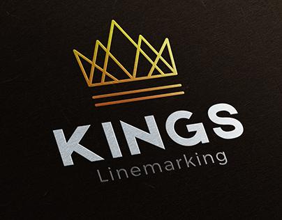 Kings Linemarking Logo Design
