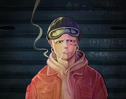 Skyline Character Design(2018)