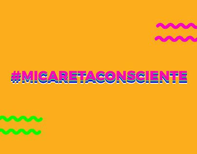 #MicaretaConsciente - Redes Sociais Agência 18k