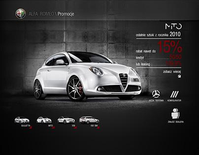 Alfa Romeo / sale landing page