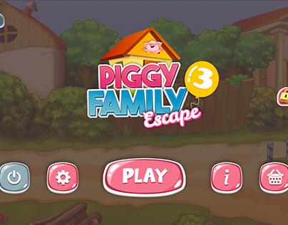 Piggy Family Escape