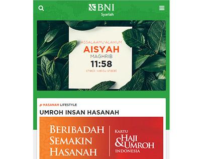 BNI Hasanah - Mobile App FrontEnd