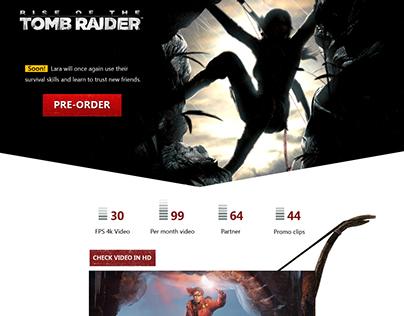 landing tomb raider