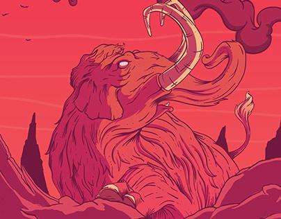 Red Hell - Ilustração Rótulo