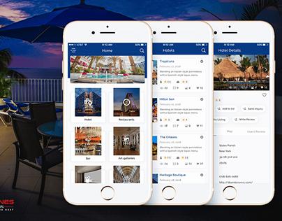 Tour review management mobile app