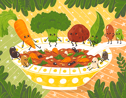 Light Grey Art Lab: Foodies Stew