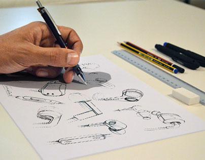 Sketch Drawing Free Mockup