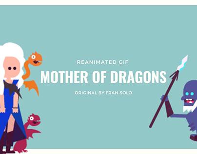 mother of dragons vs white walker