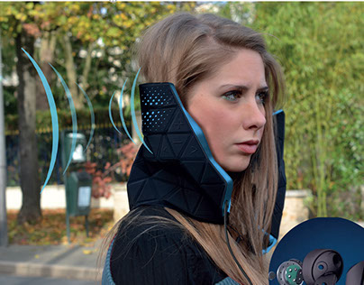 My Mute - Smart Wearable for sound pollution + web app
