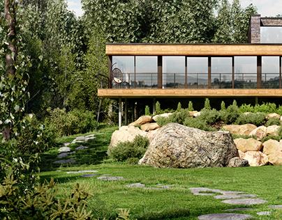 Estrade Residence / MU Architecture Render by ZonGz