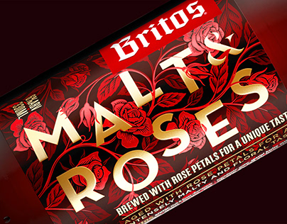MALT&ROSES - Premium beer branding