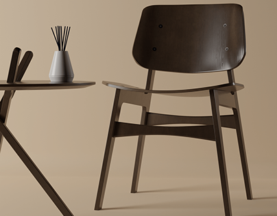 Studio - The Søborg chair and the Micado table