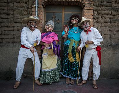 Viejitos de Martes de Carnaval. Tonalá. 2017
