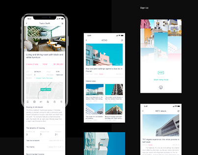 Smart living house - UI