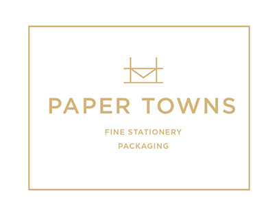 Paper Towns: Stationery Packaging