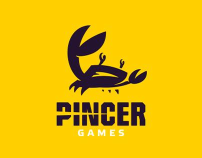 Pincer GAMES - redesign logo