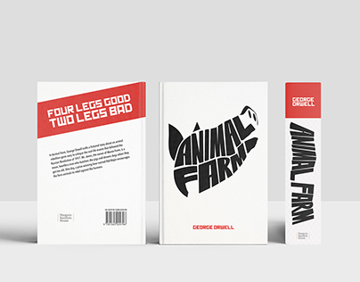 Book Cover Design System | George Orwell