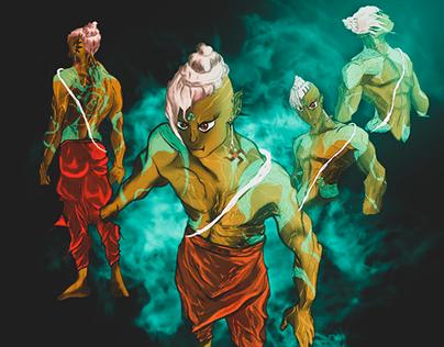 VARNA (character Design)