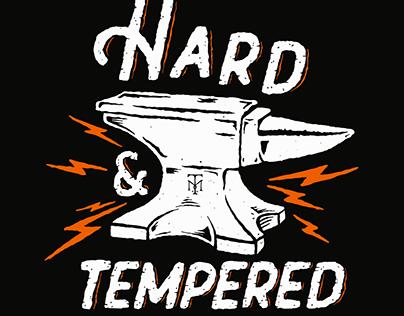 Hard & Tempered Apparel Illustration