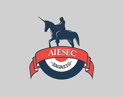 AIESEC Zagazig identity