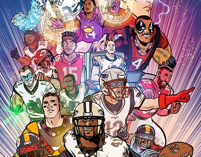 Football Superhero motion comics