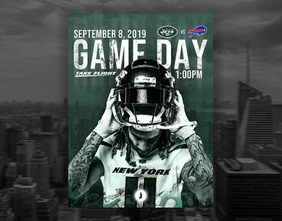 New York Jets | Game Day Poster Series 2019
