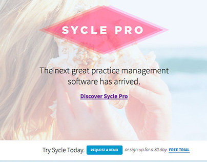 Sycle website redesign