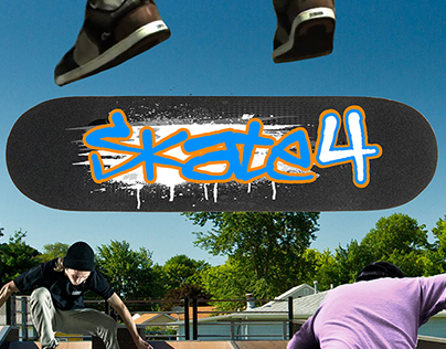 """FanGame """"Skate 4"""" Cover"""