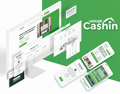 House Cashin — Real Estate Investor Website Design