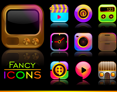 Set of Fancy Icons